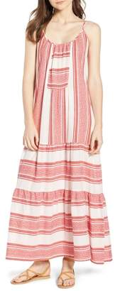 Velvet by Graham & Spencer Stripe Jacquard Maxi Dress