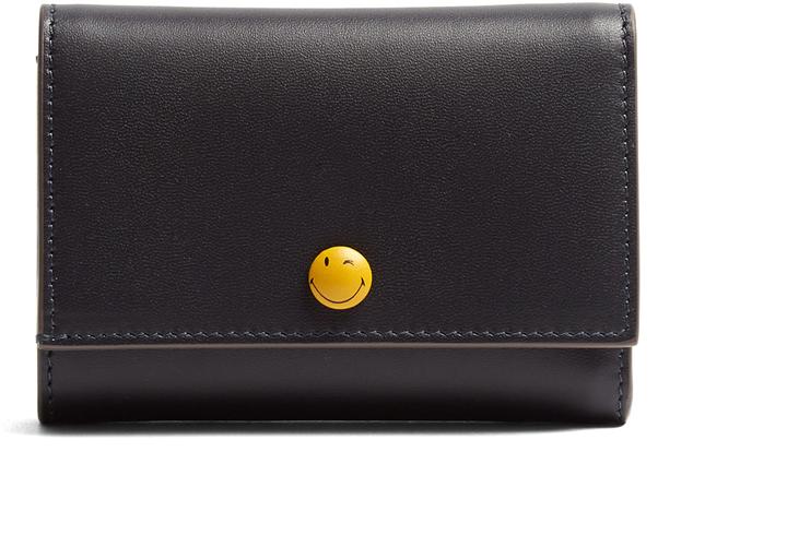 Anya HindmarchANYA HINDMARCH Wink tri-fold leather wallet