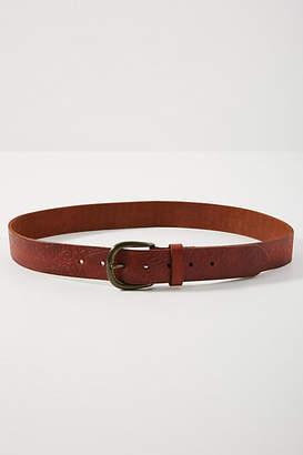 Anthropologie York Leather Belt
