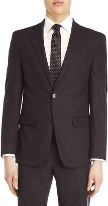 Calvin Klein Black Jacket Stretch Slim-Fit Suit Jacket