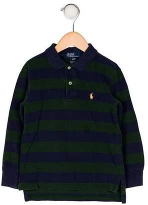 Polo Ralph Lauren Boys' Stripe Collared Shirt