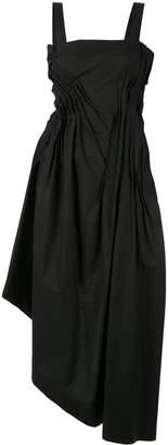 Isabel Benenato asymmetric midi dress