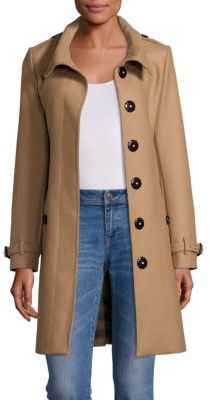 Burberry Gibbsmoore Single-Breasted Coat