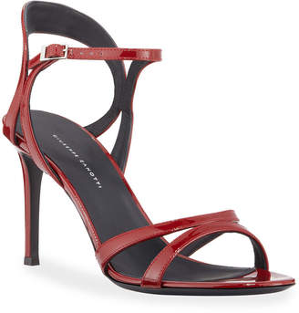 95dcb72f3b9 Giuseppe Zanotti Red Heeled Women s Sandals - ShopStyle