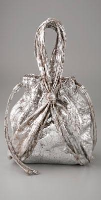 Kooba Metallic Ciel Gathered Bag