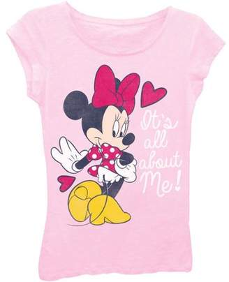 Minnie Mouse Disney Minnie Girls' All About Me Princess Graphic T-Shirt