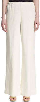 Eileen Fisher Silk Wide-Leg Pants $200 thestylecure.com
