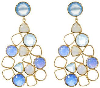 Argento Vivo Statement Earrings $198 thestylecure.com
