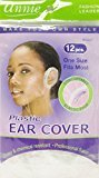 Annie Plastic Ear Cover 24 Pcs One Size Fits Most #4447 $5.49 thestylecure.com