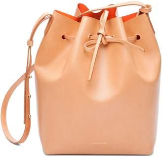 Mansur Gavriel Cammello Bucket Bag - Orange