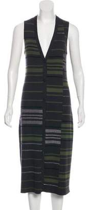 Maison Margiela Striped Knit Dress