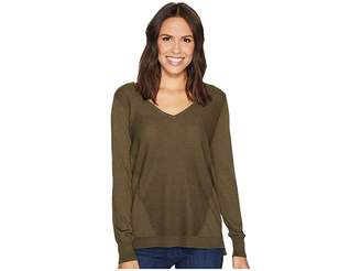 NYDJ Double V-Neck Sweater Women's Sweater
