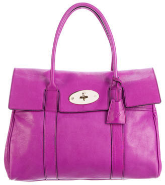 Mulberry Leather Bayswater Bag $575 thestylecure.com