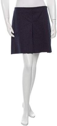 Tory Burch Printed A-Line Skirt w/ Tags