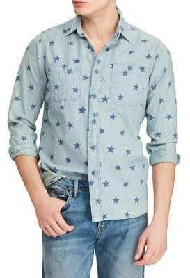Polo Ralph Lauren Classic-Fit Star Workshirt