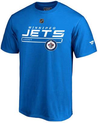Majestic Men Winnipeg Jets Rinkside Prime T-Shirt