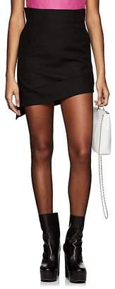 Helmut Lang Women's Canvas Asymmetric Miniskirt