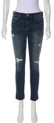 Current/Elliott The Slouchy Stiletto Tempest Destroy High-Rise Jeans