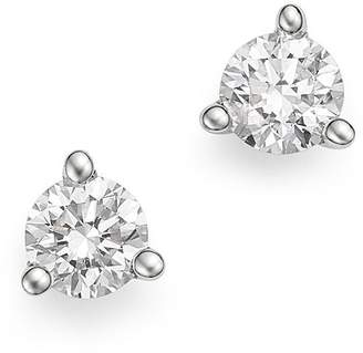 Bloomingdale's Diamond Stud Earrings in 14K White Gold 3-Prong Martini Setting, 0.20 ct. t.w. - 100% Exclusive