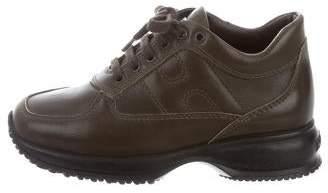 Hogan Girls' Leather Low-Top Sneakers