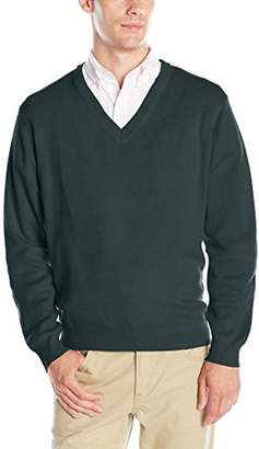 Classroom Uniforms Classroom Men's Adult Unisex Long Sleeve V-Neck Sweater