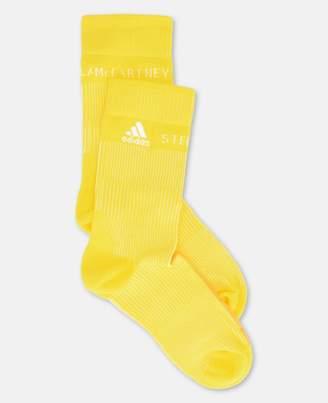 adidas by Stella McCartney Stella McCartney yellow socks