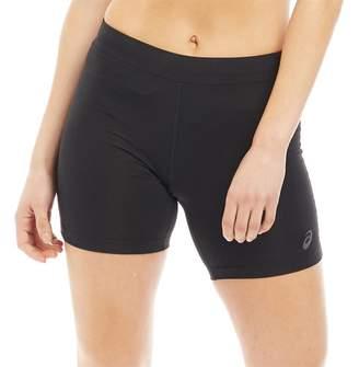 Asics Womens Sprinter Running Tight Shorts Performance Black
