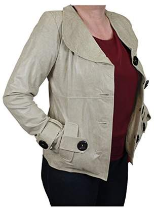 World Traveler Women's Flair Leather Distressed Jacket-