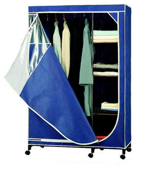 Organize It All Deluxe Wardrobe, Blue
