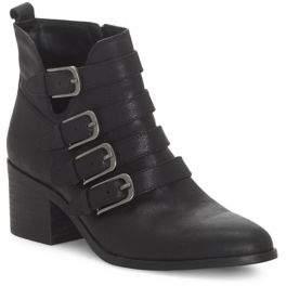 Lucky Brand Loreniah Leather Booties