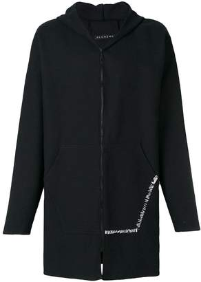 Alchemy hooded coat