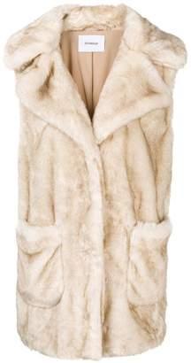 Dondup faux fur gilet
