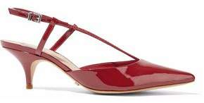 Schutz Wera Patent-Leather Slingback Pumps