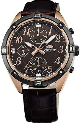Orient Women's Analogue Quartz Watch with Leather Strap FUY04004T0