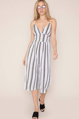 KENDALL + KYLIE Ardene Kendall & Kylie Striped Culotte Jumpsuit
