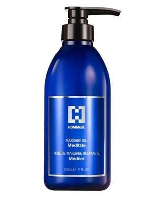 "Hommage Silver Label Massage Oil ""Meditate"""