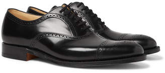 Church's Toronto Cap-Toe Leather Oxford Brogues - Black