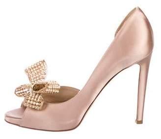 Valentino Embellished High Heel Sandals
