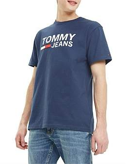 Tommy Jeans Tjm Tommy Classics Logo Tee
