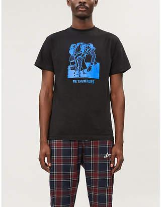Selfridges Mr Thunders Jam Naughty regular-fit cotton-jersey T-shirt