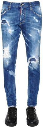15cm Skinny Fit Stretch Denim Jeans $590 thestylecure.com