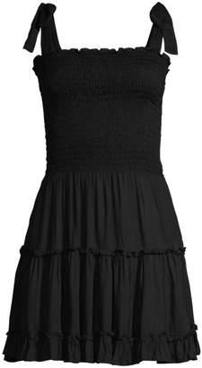 Cool Change Coolchange Raegan Smocked Bodice Tiered Ruffled A-Line Dress