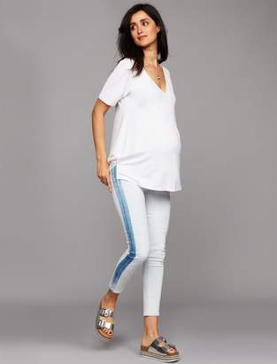 52728e220c1ae Citizens of Humanity Secret Fit Belly Rocket Crop High Rise Skinny Maternity  Jeans