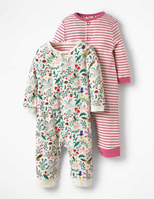 Boden Twin Pack Pretty Rompers