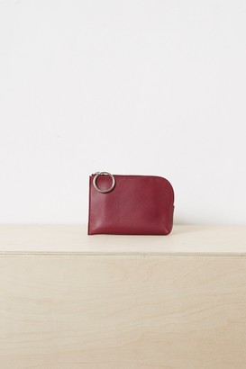 Oakley French Connenction Leather Zip Purse