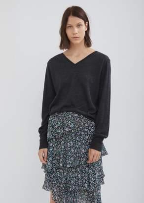 Isabel Marant Asbury Silky Wool Knit Sweater