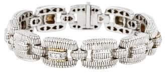 Judith Ripka Diamond Link Bracelet