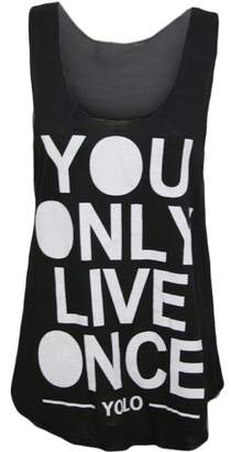 VIP Womens Sleeveless Yolo Vest Top (M8) (8/10 (uk 12/14), )