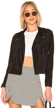 BB Dakota Not Your Baby Faux Suede Jacket