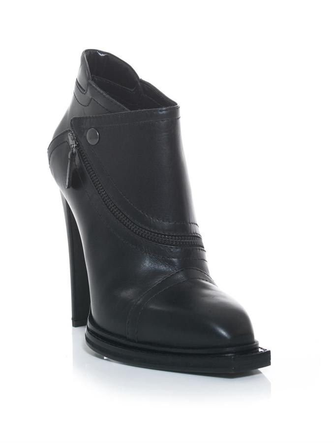 McQ Biker high heel ankle boots